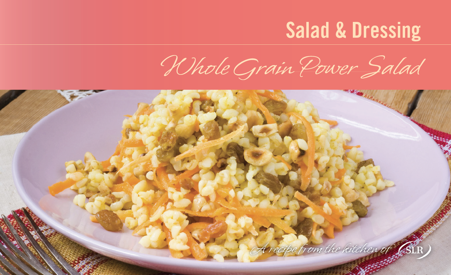 Whole Grain Power Salad recipe card