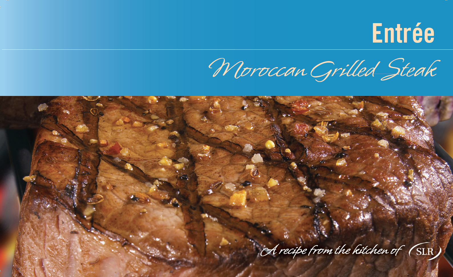 Moroccan-Rubbed Grilled Steak recipe card