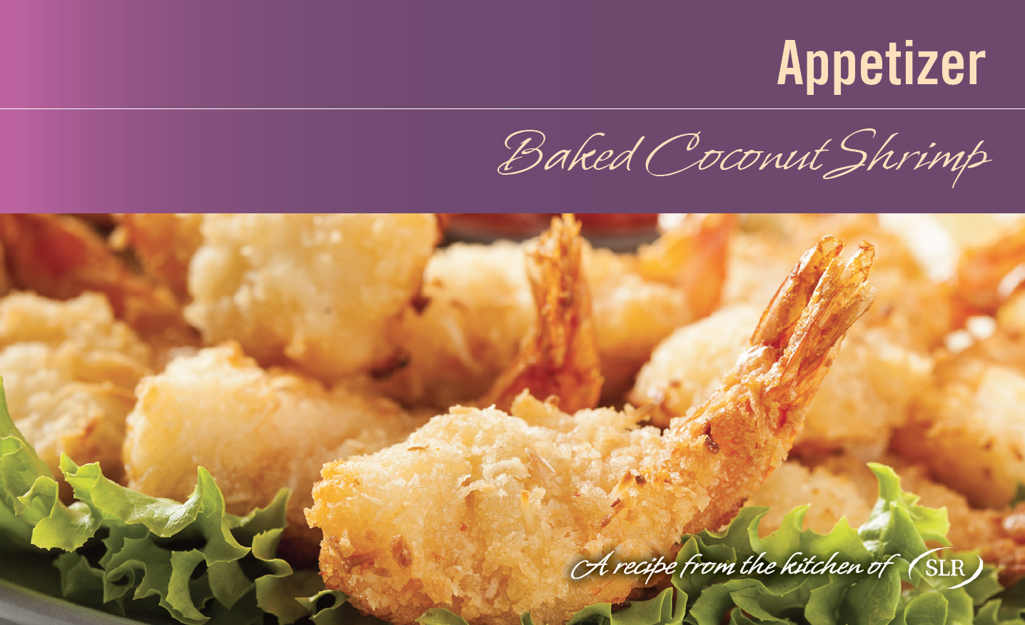 Baked Coconut Shrimp recipe card