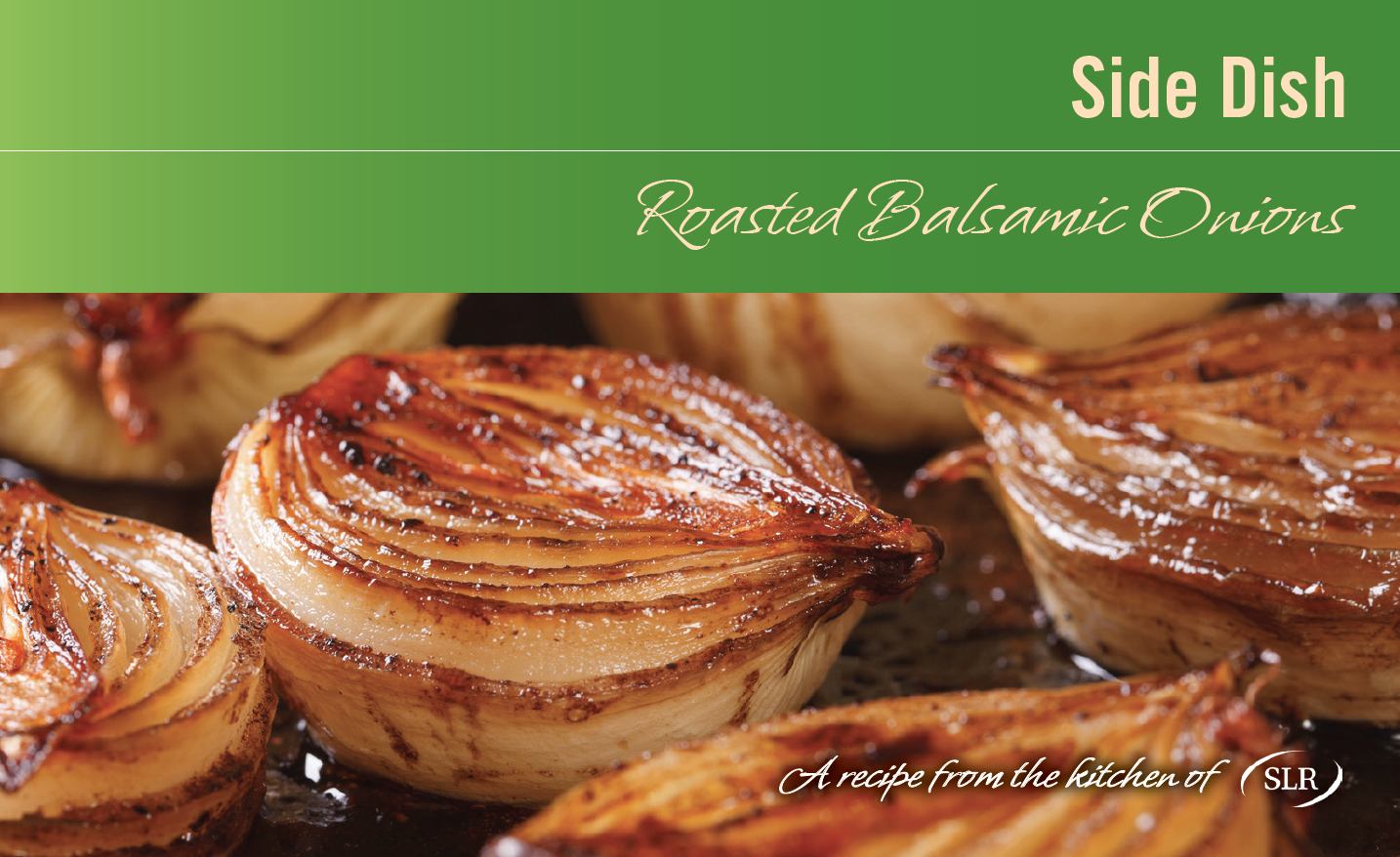 Roasted Balsamic Onions recipe card