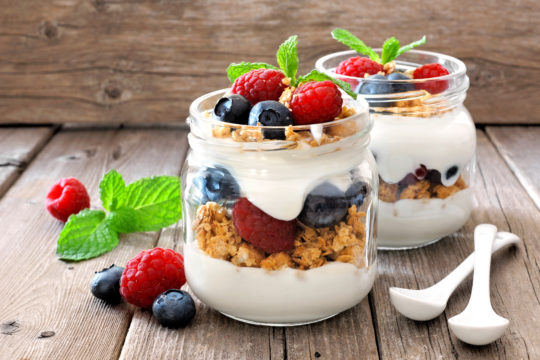 Fruity Yogurt Parfait