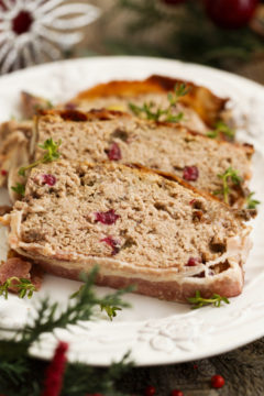 Cranberry Turkey Meatloaf