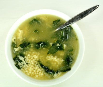 Stracciatella (Egg Drop Soup)