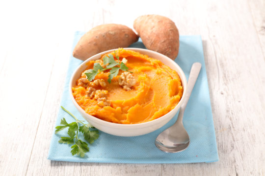 Curried Sweet Potato Puree