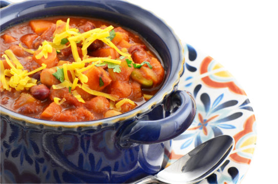 Golden Vegetarian Chili