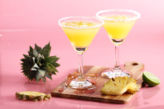 Pineapple Coconut Martini