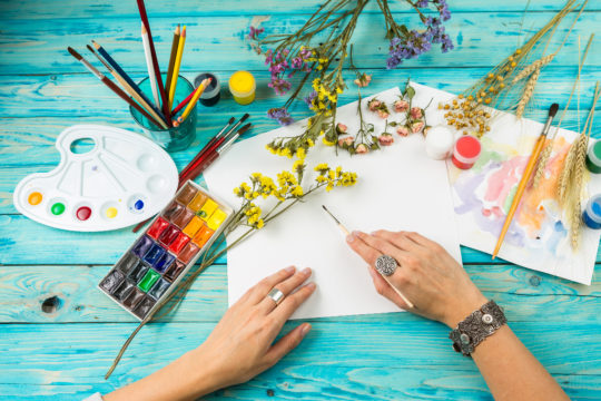 Crafting with Purpose to Slow Cognitive Decline