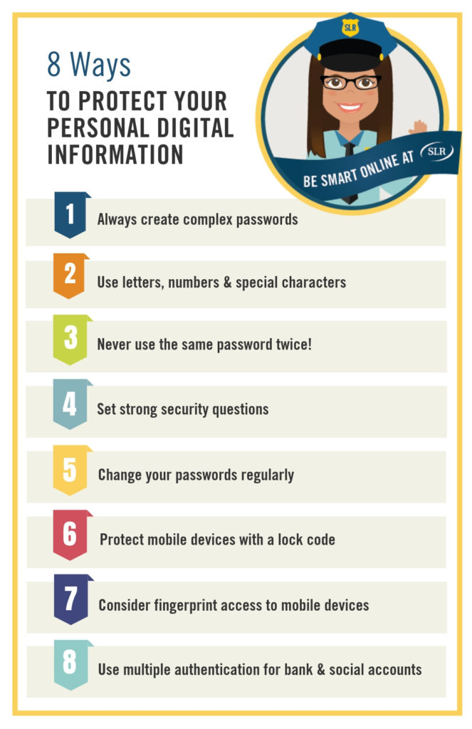 8 ways to protect digital information