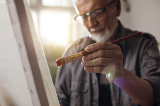 Art Therapy for Seniors in Assisted Living
